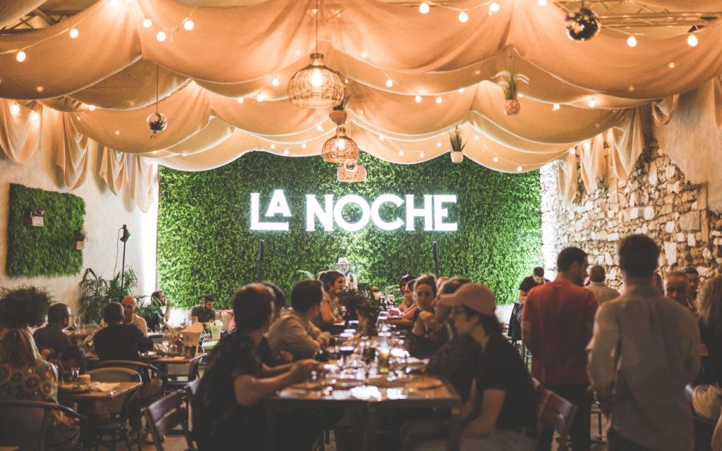 La Noche restaurant à Nîmes - Création de site et communication